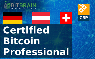 Online/Blended Learning – Certified Bitcoin Professional (CBP) auf DEUTSCH